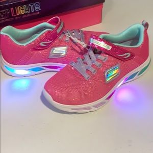 Skechers Big Girl Litebeam Shoes Size 4